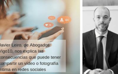 ¿Es delito compartir un vídeo o imagen íntima en redes sociales?